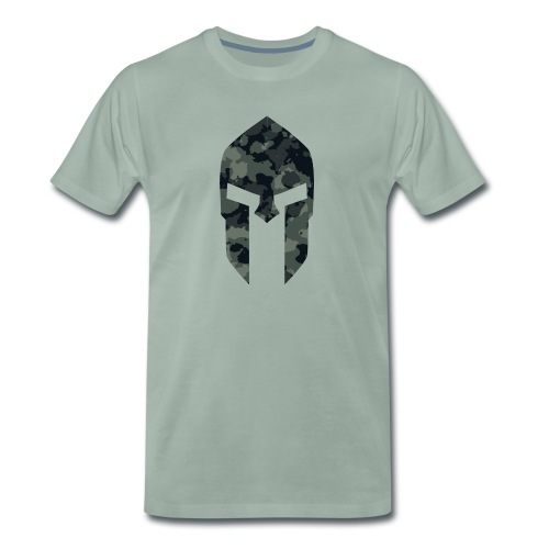 Sparta military pattern 1 - Männer Premium T-Shirt