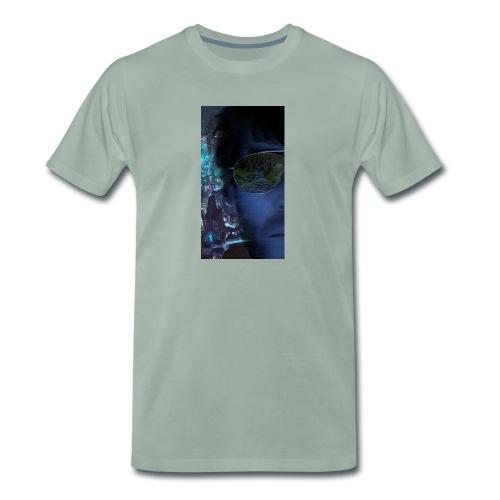 Cyberpunk - Fly verkligheten med en T-shirt - Premium-T-shirt herr