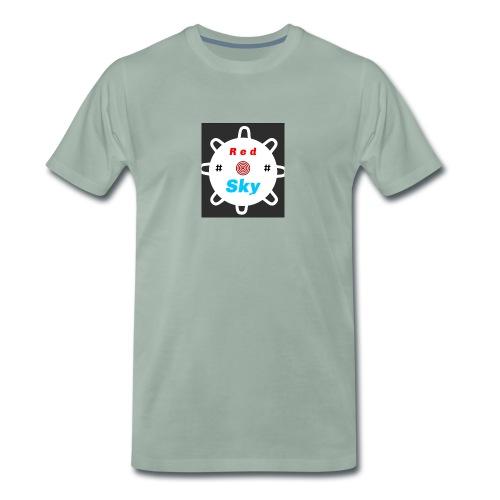 RED SKY logo - Männer Premium T-Shirt