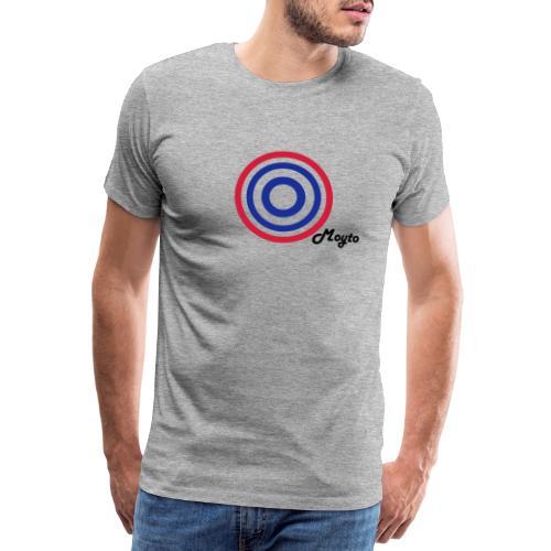 MOYTO BLACK SIDE - Maglietta Premium da uomo