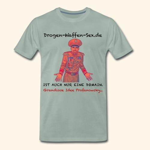 Drogen-Waffen-Sex - Männer Premium T-Shirt
