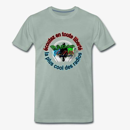 logo Radio Lib' - T-shirt Premium Homme