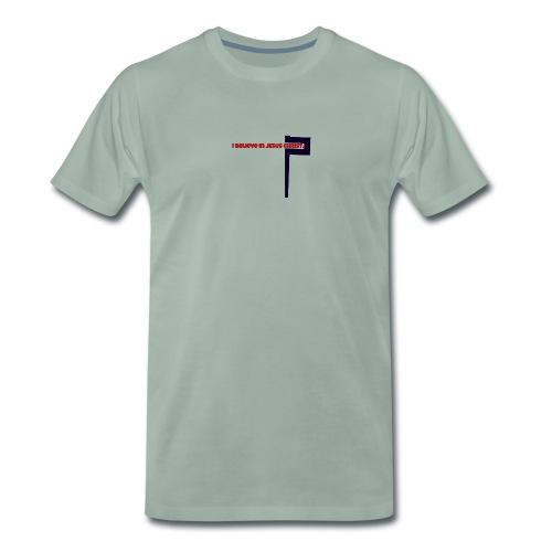 I believe in Jesus!!! - Männer Premium T-Shirt