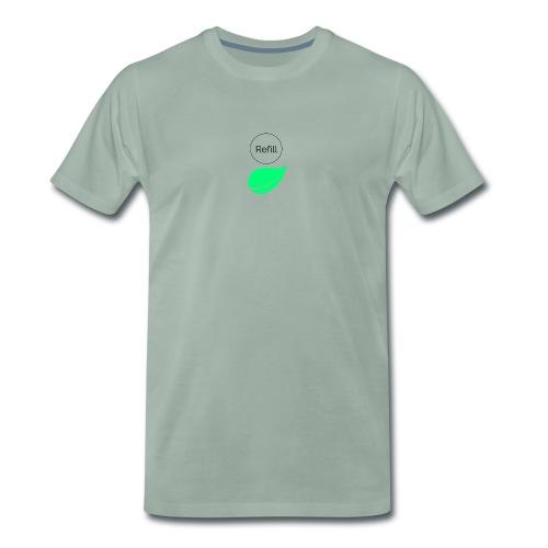 Refill - Premium-T-shirt herr