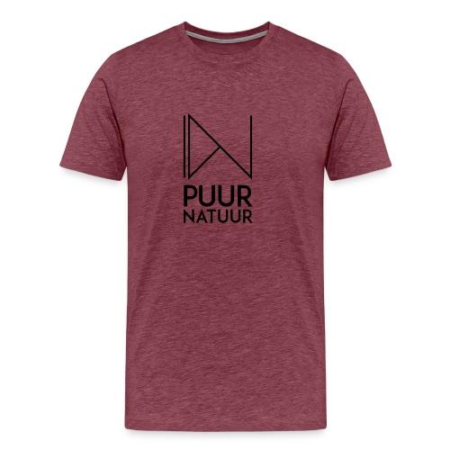 PUUR NATUUR FASHION BRAND - Mannen Premium T-shirt