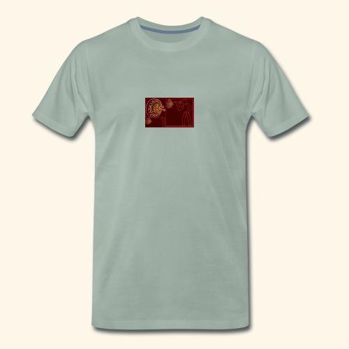 Dartblack Ge b1 - Männer Premium T-Shirt