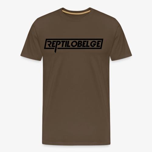 M1 Reptilobelge - T-shirt Premium Homme