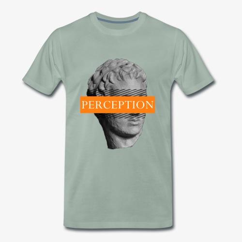 TETE GRECQ ORANGE - PERCEPTION CLOTHING - T-shirt Premium Homme