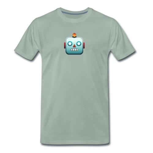 Robot Emoji - Mannen Premium T-shirt