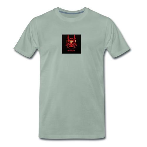 HrWulff Gaming Logo - Herre premium T-shirt
