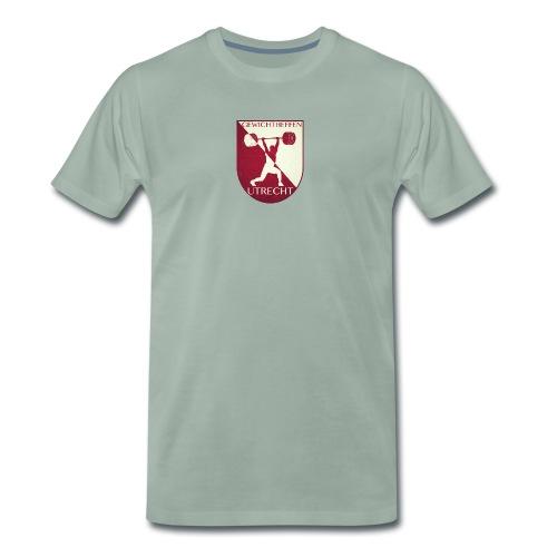 Oldschool Logo - Mannen Premium T-shirt