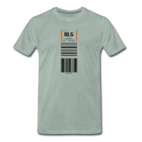Flughafen Rostock - RLG - Männer Premium T-Shirt