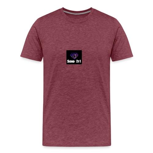 Send It Streetwear galaxy Tee - Men's Premium T-Shirt