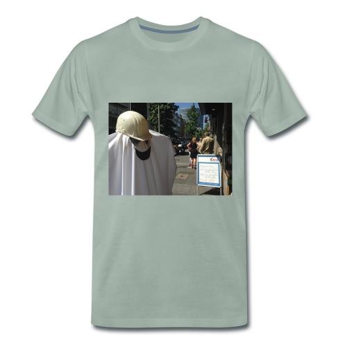 Unsichtbar png - Männer Premium T-Shirt