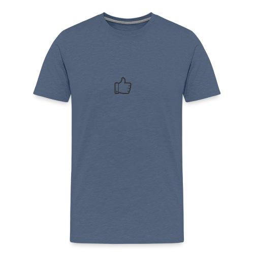 Like button - Mannen Premium T-shirt
