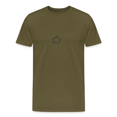 Like button - Mannen Premium T-shirt