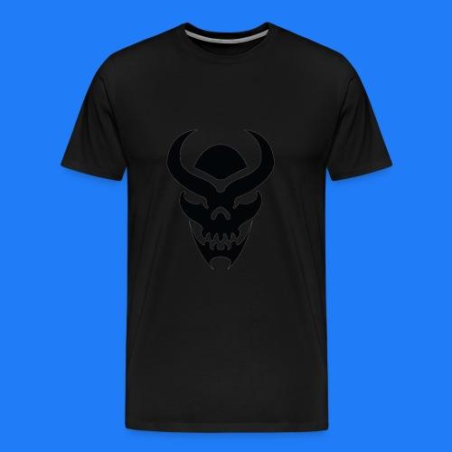 TRIBAL SKULL NOIR - T-shirt Premium Homme