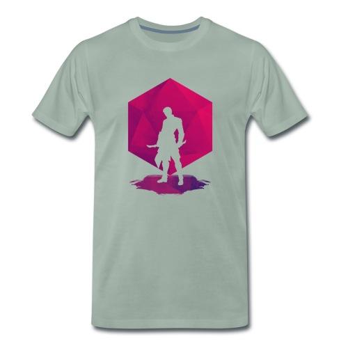 Schaduw moordenaar - Mannen Premium T-shirt
