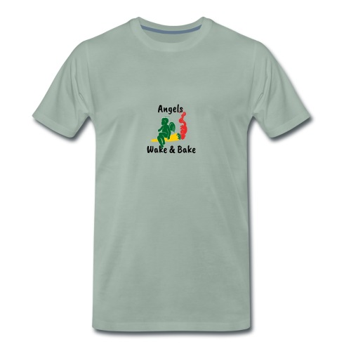 Angels Wake and Bake - Men's Premium T-Shirt