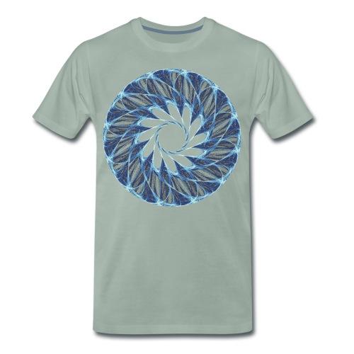 Chakra Mandala Mantra OM Chaos Stern Kreis 12235ic - Männer Premium T-Shirt