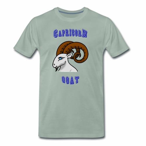 Capricornio, Cabra - Camiseta premium hombre