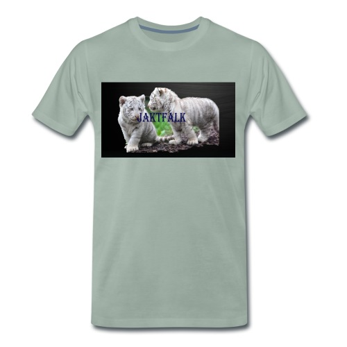 Jatkfalk - Premium-T-shirt herr