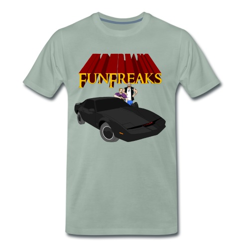 K.I.T.T Falke & Garafdir - Männer Premium T-Shirt