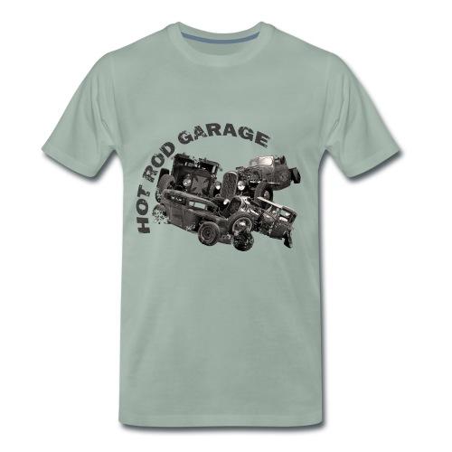 Hot Rod Garage 1 - T-shirt Premium Homme