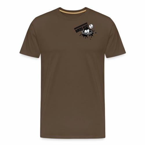 Birds Nest With Bird - Men's Premium T-Shirt