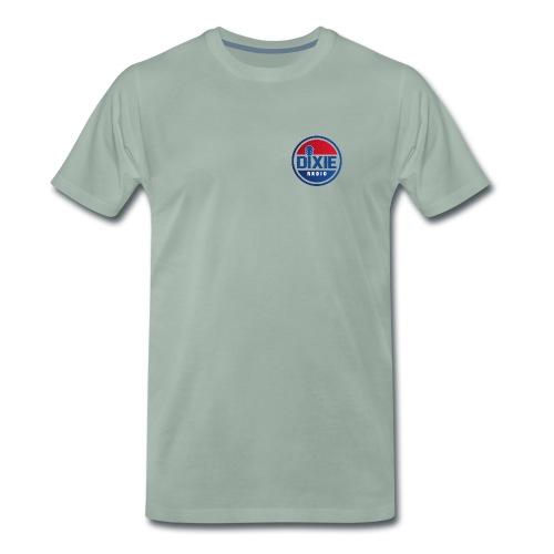 Dixie Radio Main Logo - Premium-T-shirt herr