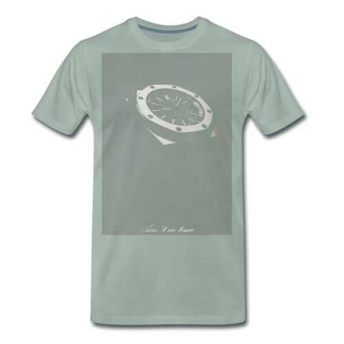 notime png - Men's Premium T-Shirt