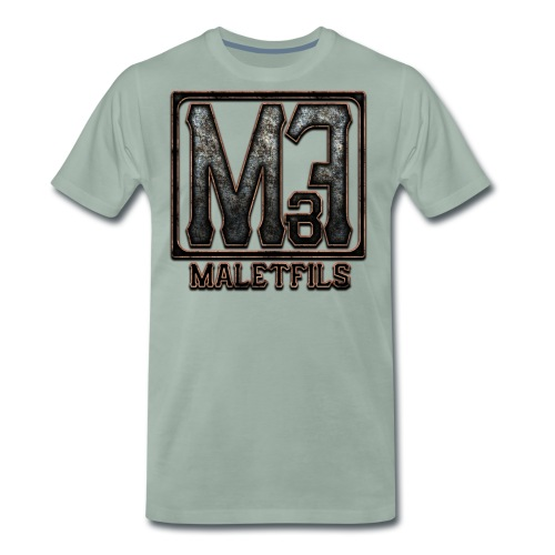 maletfils new logo v2 vig - T-shirt Premium Homme