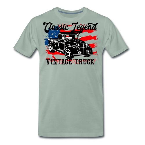 Classic Legend - Männer Premium T-Shirt