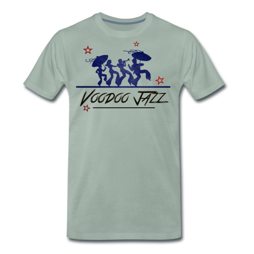 Jazz band vintage - T-shirt Premium Homme