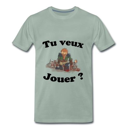 TuveuxJouer - T-shirt Premium Homme