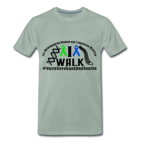 walk ribbons - Men's Premium T-Shirt