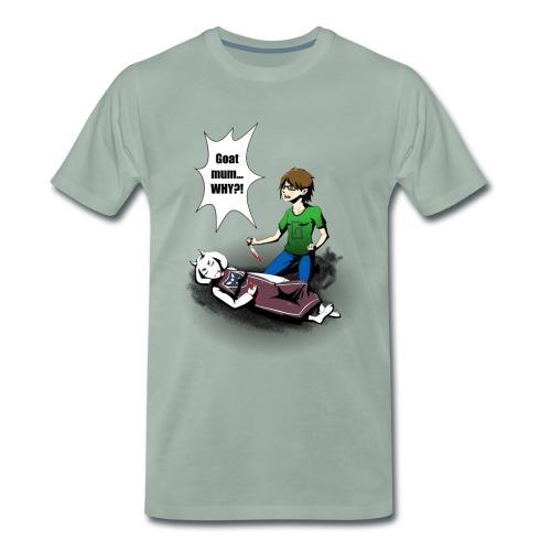 Gruntcatcher undertale png - Men's Premium T-Shirt
