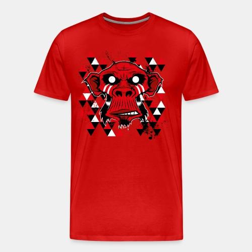 monkey-4 - Männer Premium T-Shirt