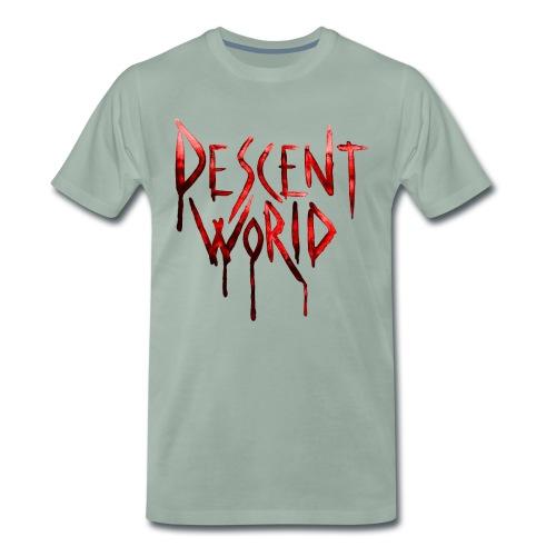 DescentWorld_BloodRed_Edi - Men's Premium T-Shirt