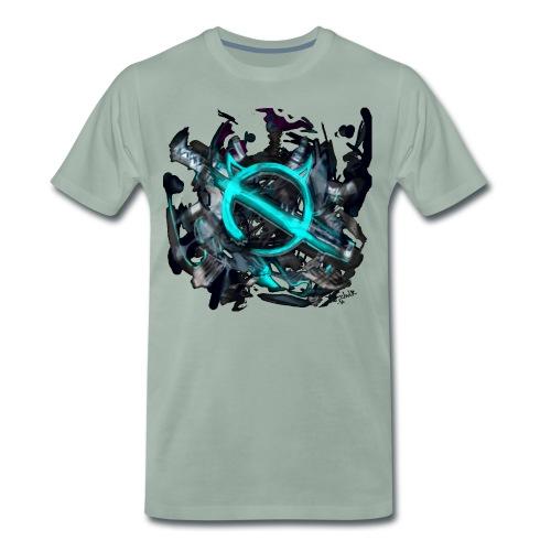Ghostcat - Männer Premium T-Shirt