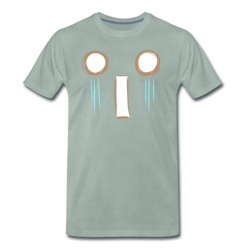 Kawaii_WhattheF_EnChantal - Men's Premium T-Shirt