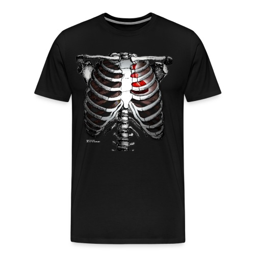 heart tv - Men's Premium T-Shirt