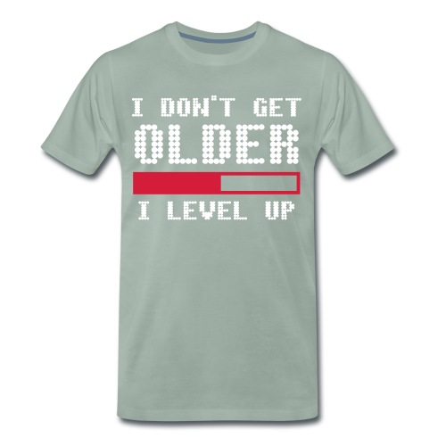 I dont get older 2 - Premium-T-shirt herr
