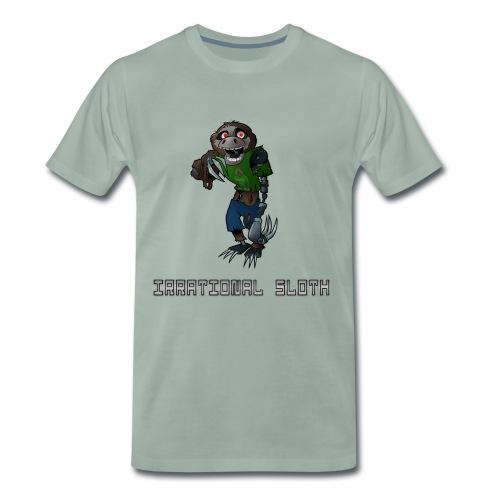 Irrational Sloth Design 1 - Men's Premium T-Shirt