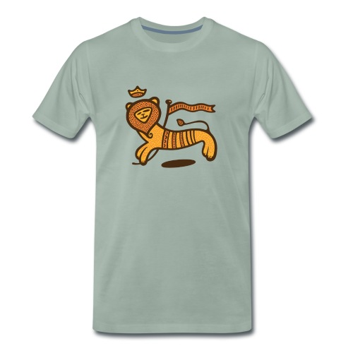 Conquering Lion - Männer Premium T-Shirt