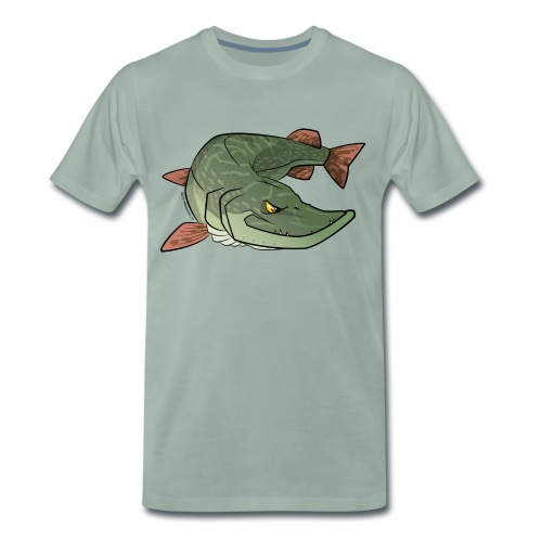Red River: Pike - Men's Premium T-Shirt