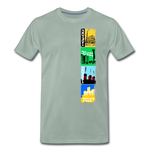 Stadtansichten Hannover Set 03 - Männer Premium T-Shirt