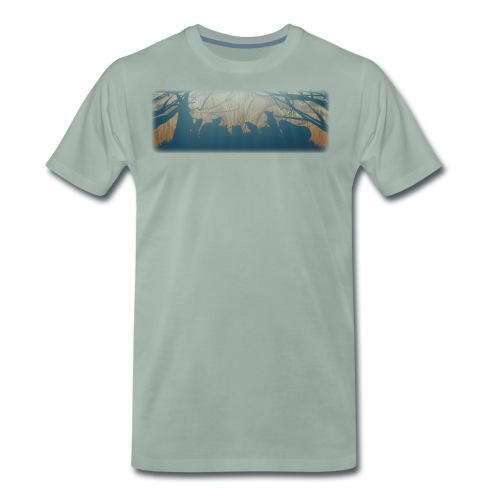 Jyrsijät - väri - Miesten premium t-paita