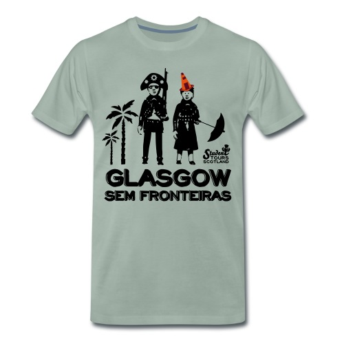 Glasgow Without Borders Brazil Pernambuco - Men's Premium T-Shirt