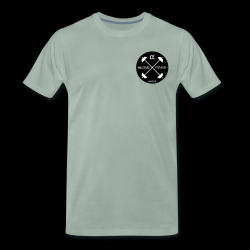 Alpha Original PNG png - Men's Premium T-Shirt